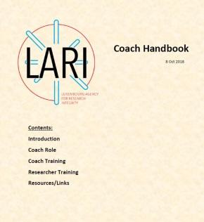 Coach Handbook cover